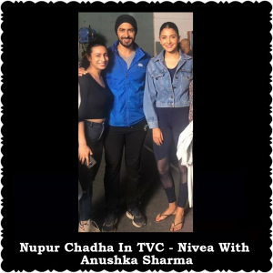 Nupur-chadha-in-Tvc---Nivea-with-anushka-sharma